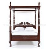Four Poster Canopy Bed Double